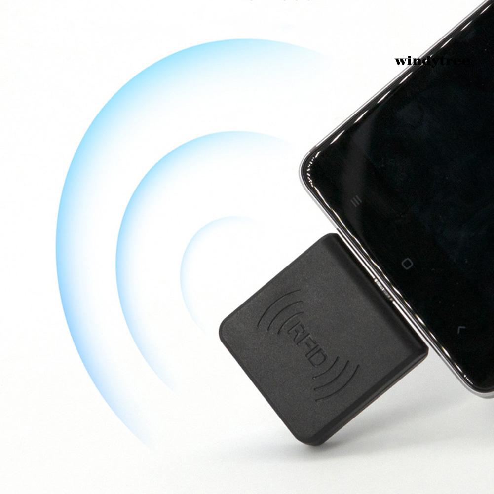 Đầu Đọc Thẻ Nhớ Ic Nfc Ic Rfid Mini Di Động Tiện Dụng Cho Điện Thoại Android