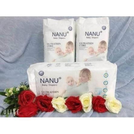 COMBO 50 MIẾNG BỈM QUẦN NANU M50/ L50/ XL50/ XXL50 MIẾNG