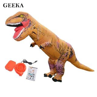 Inflatable Dinosaur Costume Inflatable Giant For Adults Kids Camel Color Special