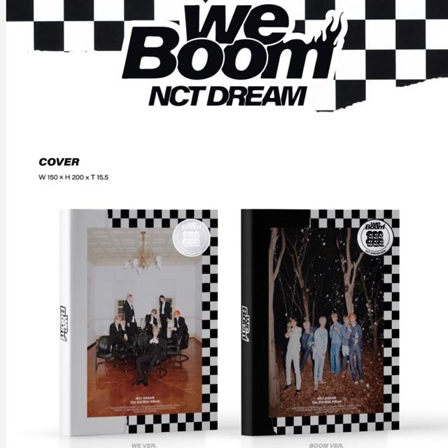 (พร้อมส่ง/ไม่มีโปส) NCT DREAM - MINI ALBUM WE BOOM ออลแฮชาน/ออลจีซอง