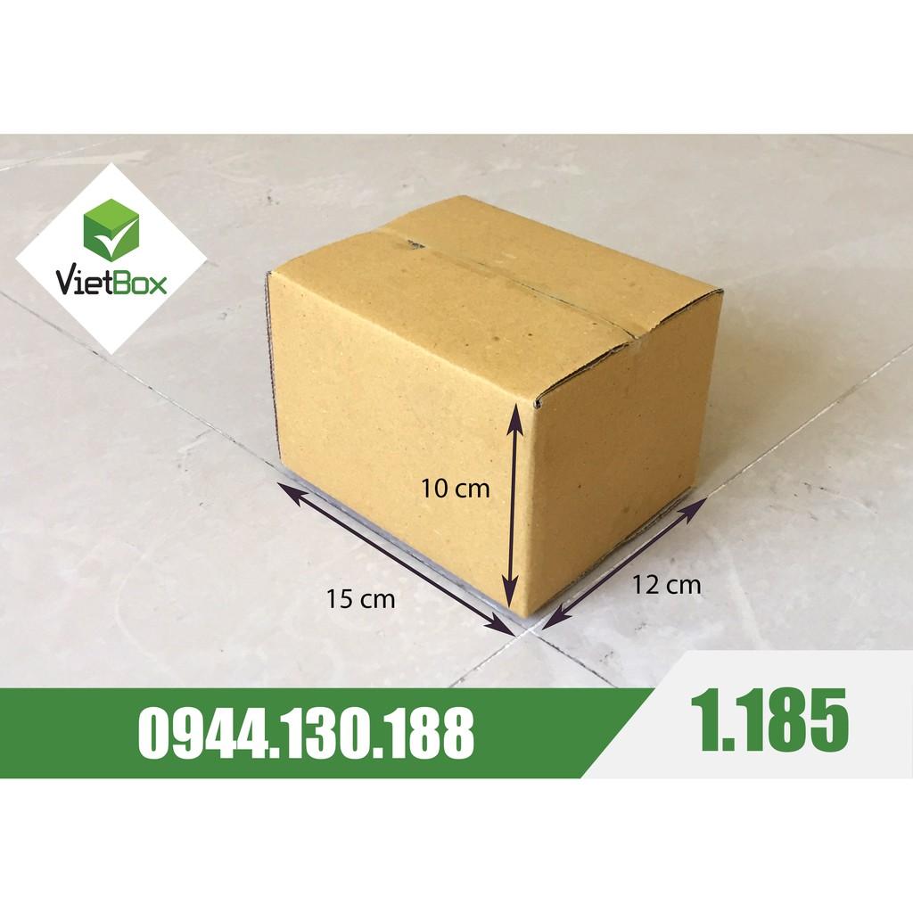 [NHẬP KOBE7V5 GIẢM 7,5K] Combo 120 hộp carton 15x12x10