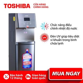 CÂY NƯỚC NÓNG LẠNH TOSHIBA RWF-W1830UVBV Diệt khuẩn bằng tia UV - Điều khiển cảm ứng- Hàng chính hãng, bảo hành 12 tháng