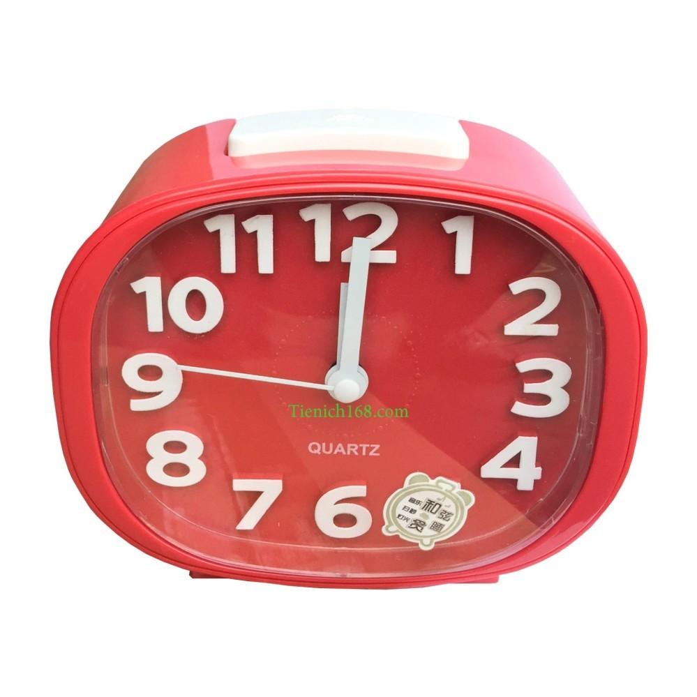 Đồng hồ báo thức để bàn cao cấp Standard Clock Đỏ TI854