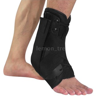 [B M]Ankle Stabilizer Brace Support Sports Safety Stirrup Compression Strap for Ankle Sprains Injuries Strains