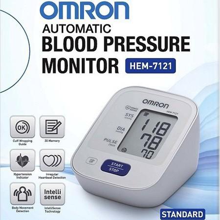 Máy đo huyết áp bắp tay tự động Omron HEM-7121 NHẬT BẢN