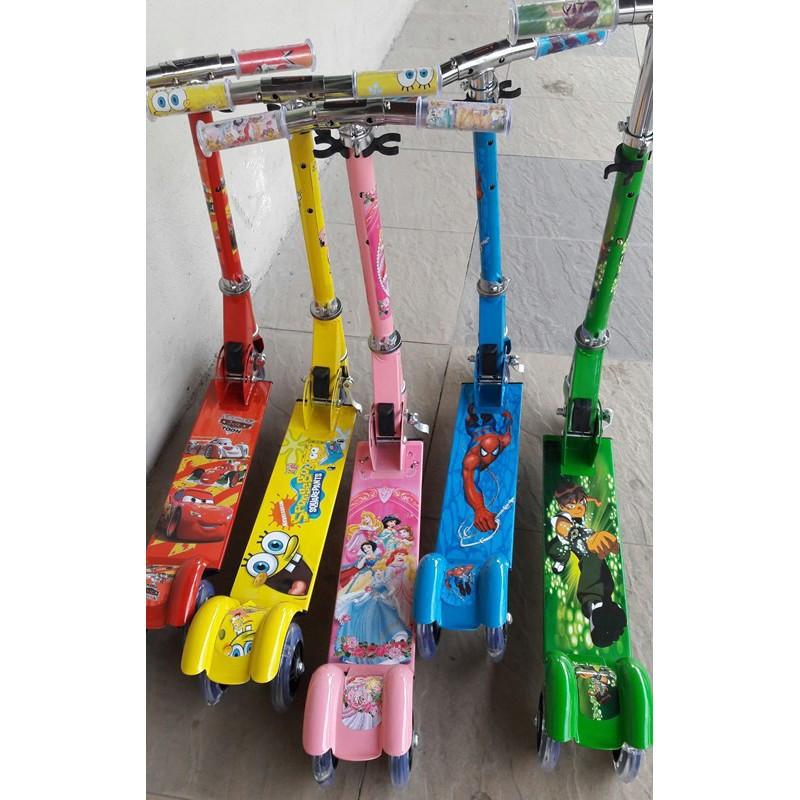 Xe trượt scooter 3 bánh có đèn led (loại tốt) - 3398801 , 960607362 , 322_960607362 , 250000 , Xe-truot-scooter-3-banh-co-den-led-loai-tot-322_960607362 , shopee.vn , Xe trượt scooter 3 bánh có đèn led (loại tốt)