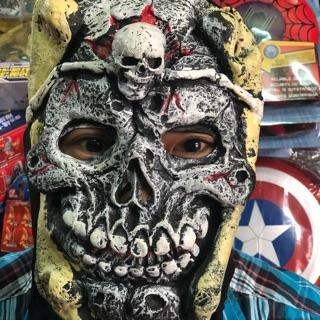 Mặt nạ ma bằng da cho lễ hội haloween