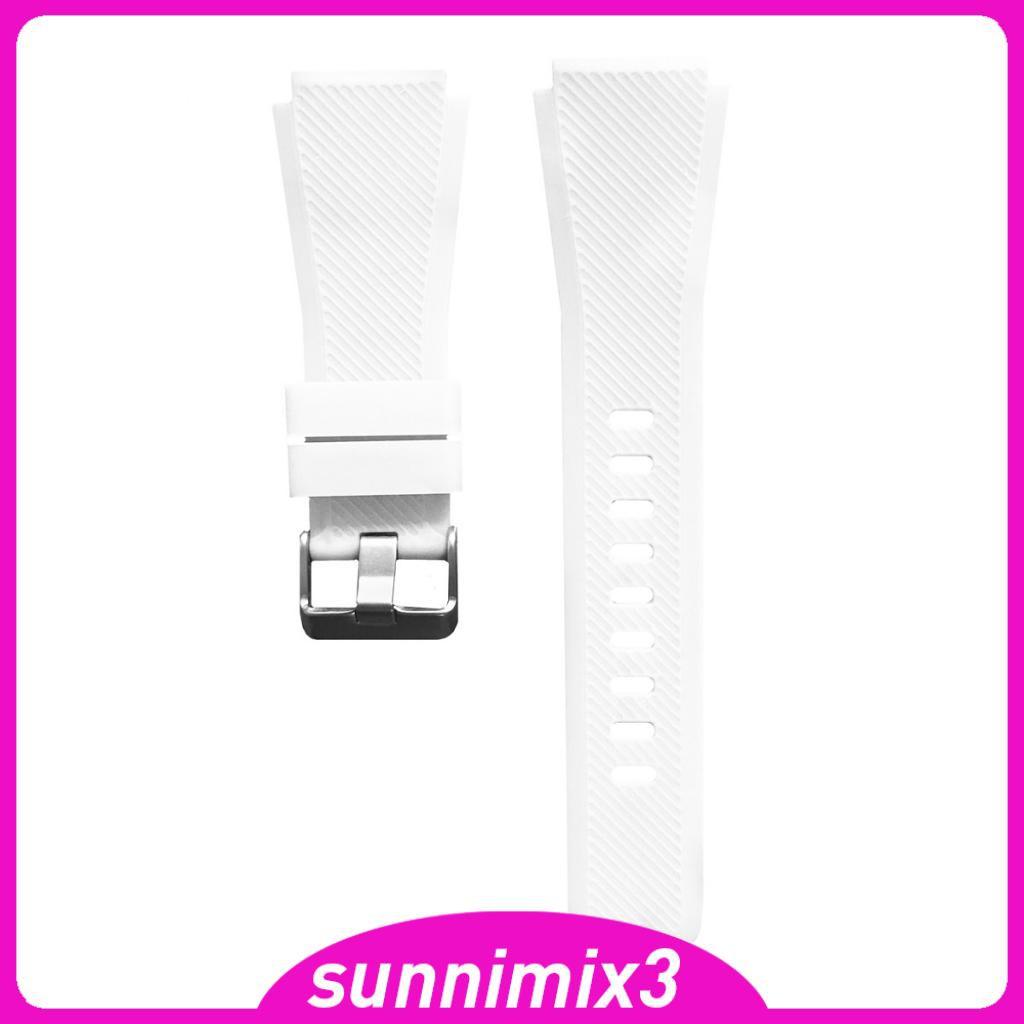 Dây Đeo Silicon Cho Đồng Hồ Thông Minh Samsung Gear S3 22mm