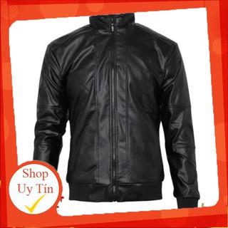 Áo khoác da nam lót lông phối bo cao cấp pious akd70 hàng VNXK Liên hệ mua hàng 084.209.1989