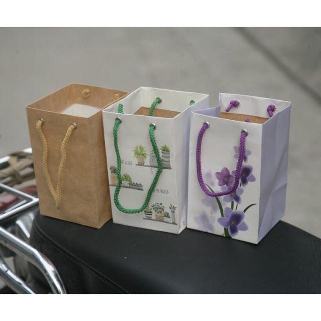 Mộc - Combo 10 túi giấy mẫu 28 đựng phụ kiện thời trang