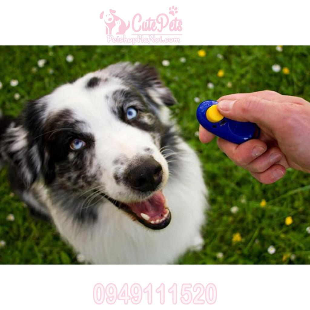 Clicker huấn luyện chó - CutePets Phụ kiện thú cưng Pet Shop Hà Nội - 3424210 , 1130584553 , 322_1130584553 , 38000 , Clicker-huan-luyen-cho-CutePets-Phu-kien-thu-cung-Pet-Shop-Ha-Noi-322_1130584553 , shopee.vn , Clicker huấn luyện chó - CutePets Phụ kiện thú cưng Pet Shop Hà Nội