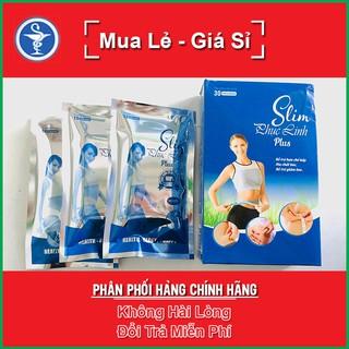 Slim Phục Linh Plus hộp 30 viên giảm cân không lo mệt mỏi, thanh lọc, đốt cháy mỡ thừa, giảm béo an toàn, hiệu quả thumbnail