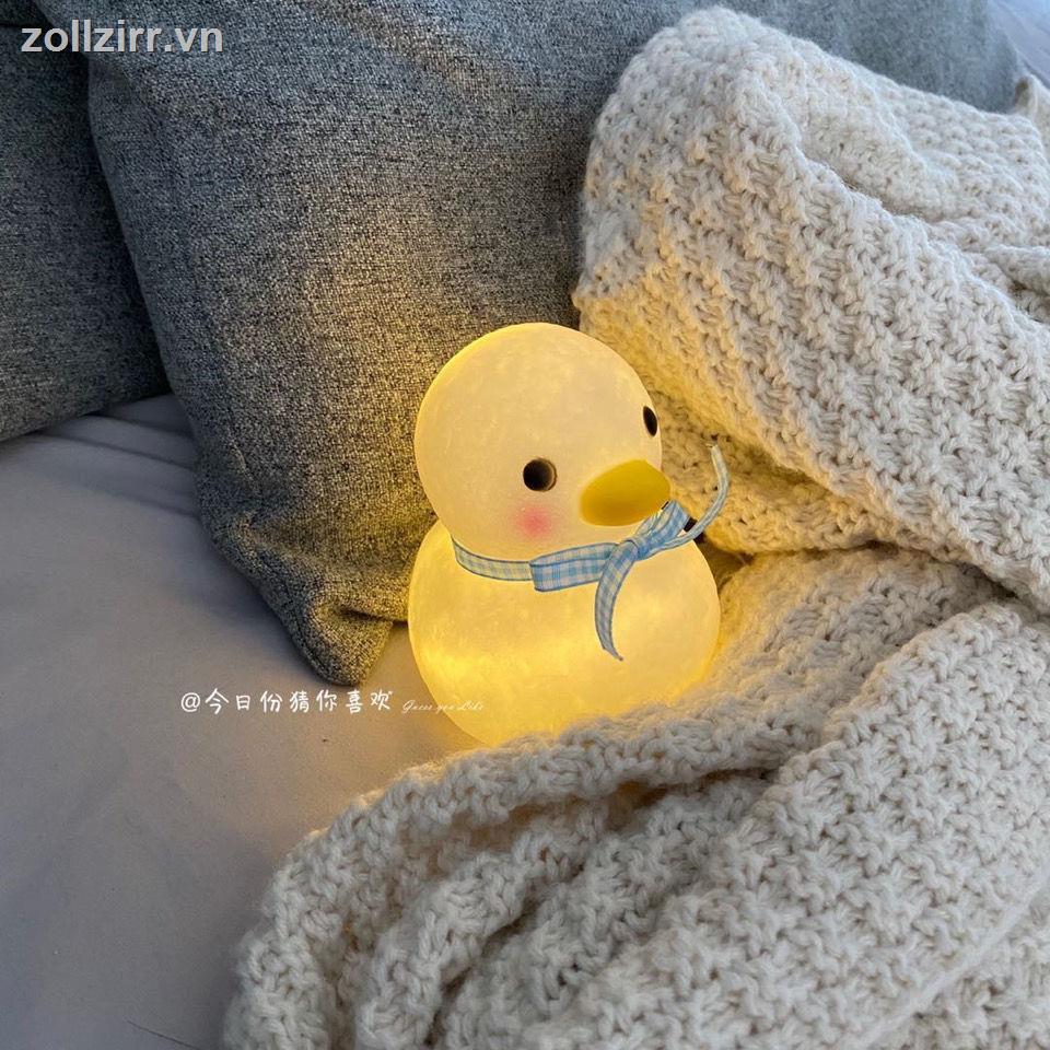 Amour✨Đèn Ngủ Hình Chú Vịt Đáng Yêu đèn ngủ đèn đèn trang trí đèn sạc đèn tích điện đèn usb