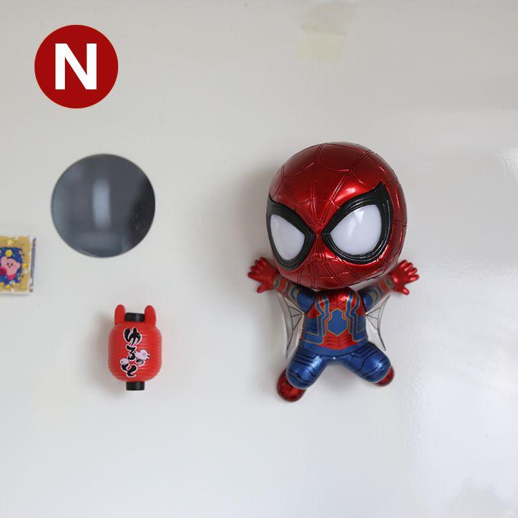 Mô Hình Mavel IRON SPIDER MAN Cosbaby ( Lắc đầu , Phiên bản INFNITY WAR )