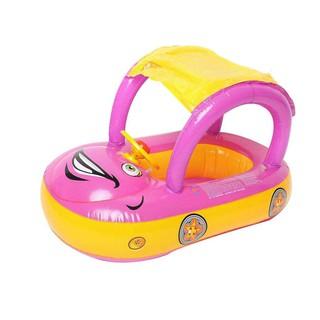 Baby Car Sunshade Inflatable Float Trainer Tube Ring Infant Swim Circle-SPL3000