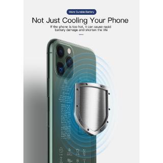 Hình ảnh [Mã CBEL06 giảm 20% đơn 50k] KUULAA Quạt Tản Nhiệt Có Đèn Led Cho for Xiaomi Iphone Samsung-8