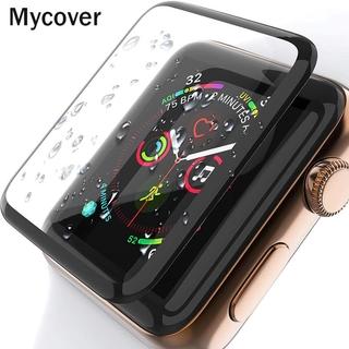 Kính Cường Lực Viền Cong 3d Cho Đồng Hồ Thông Minh Apple Watch Series 6 Se 5 3 2 1 38mm 42mm Iwatch 4 5 6 Se 40mm 44mm thumbnail