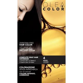 [NÂU TỰ NHIÊN] Kem nhuộm dưỡng tóc không Amoniac Olea Color ITALY Màu số 4 thumbnail