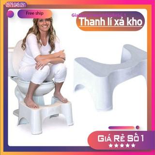 Ghế hỗ trợ đi vệ sinh,để chân tránh táo bón Việt Nhật.Ghế kê chân toilet chống táo bón. thumbnail