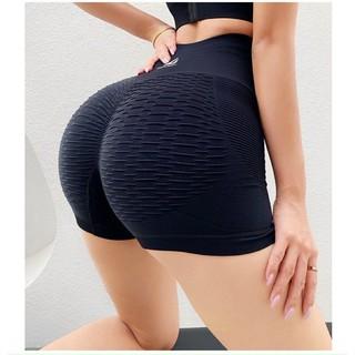 [Ảnh thật] Quần tập nữ _ Quần đùi chun mông 3D Naqi mẫu mới