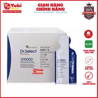 Nước uống Placenta Drink Tinh Chất Nhau Thai Heo Dr. Select Placenta Drink 300000 hộp 3 thumbnail