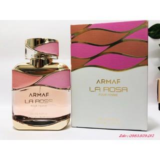[Mẫu thử 2,5,10ml] Nước Hoa Armaf La Rosa For Women thumbnail