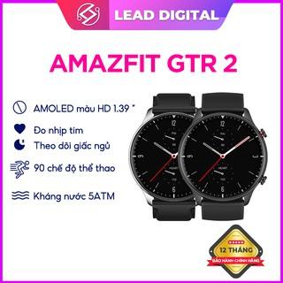 Đồng Hồ Thông Minh Amazfit GTR 2 - Có Tiếng Việt - Đàm Thoại Trực Tiếp - Nghe Nhạc Bluetooth - Bản Quốc Tế