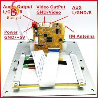 Bộ Thu Tín Hiệu Âm Thanh Bluetooth Dts Wav Mp3 Txt Màn Hình Lcd 4.3