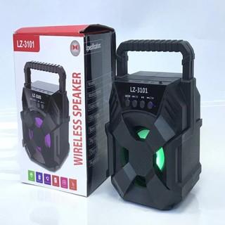 Loa Bluetooth Không Dây Sách Tay Mini Lz – 3101 Bản Màu Đen Sang Trọng, Âm Thanh Siêu Hay, Pin Trâu, Bảo Hành 12 Tháng