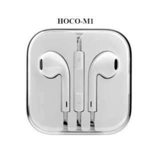 [XẢ LỖ] Tai Nghe Chính hãng Hoco M1 âm thanh siêu chất phù hợp với tất cả các máy giắc 3.5