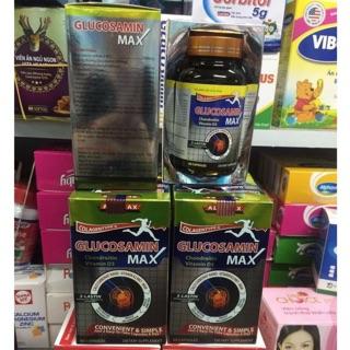GLUCOSAMIN Max 1500mg– Giúp xương chắc khớp khỏe, ngăn ngừa thoái hóa khớp, tái tạo mô sụn