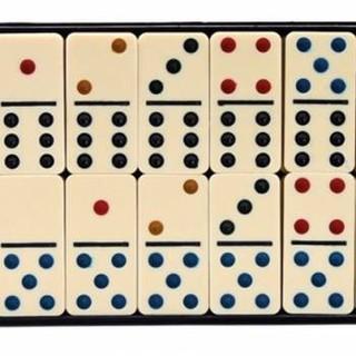 bộ cờ domino nhựa đúc