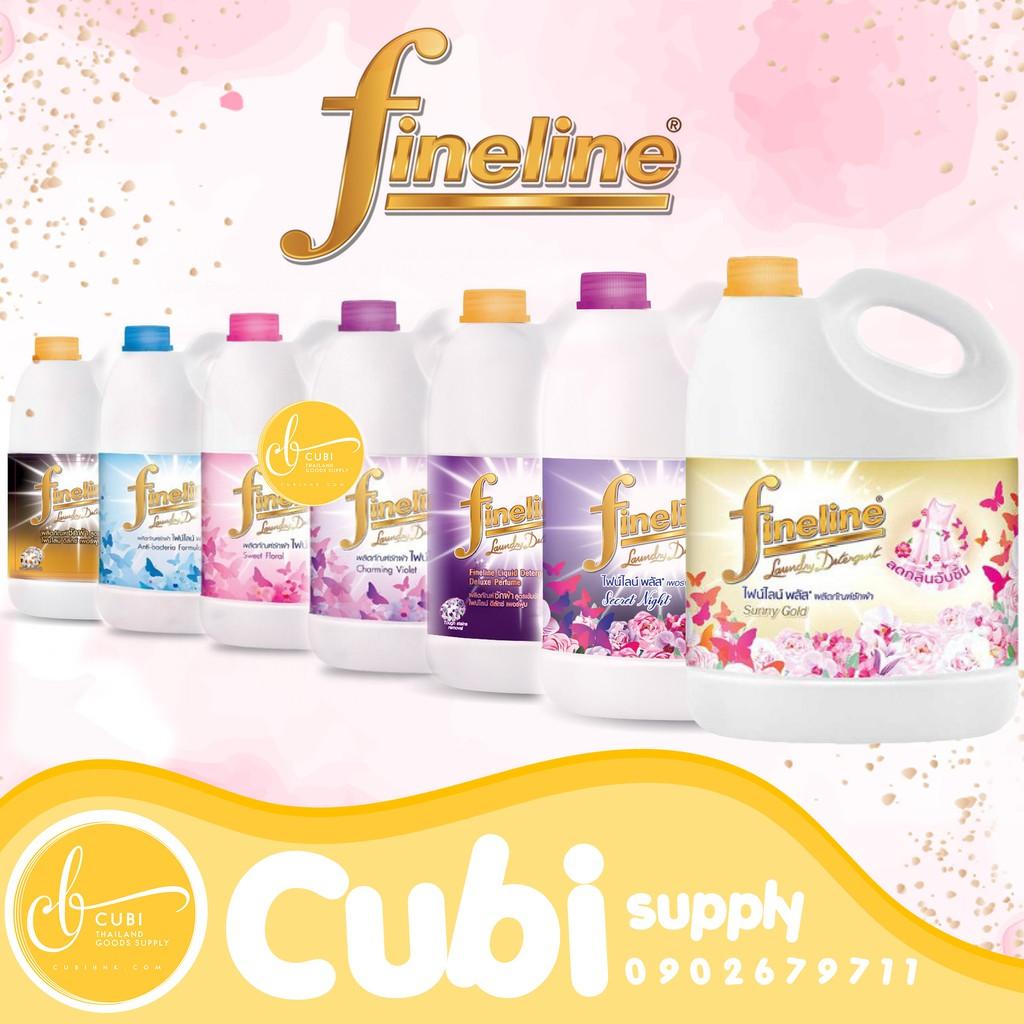 Nước giặt Fineline Thái Lan 3000ml Mẫu mới- Có tem nhập khẩu