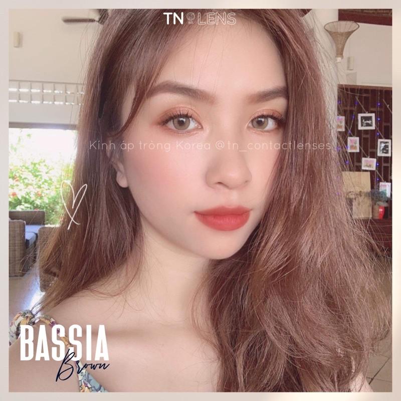 Kính áp tròng BASSIA BROWN 14.0 – Dòng cao cấp độ ẩm cao 12/24h