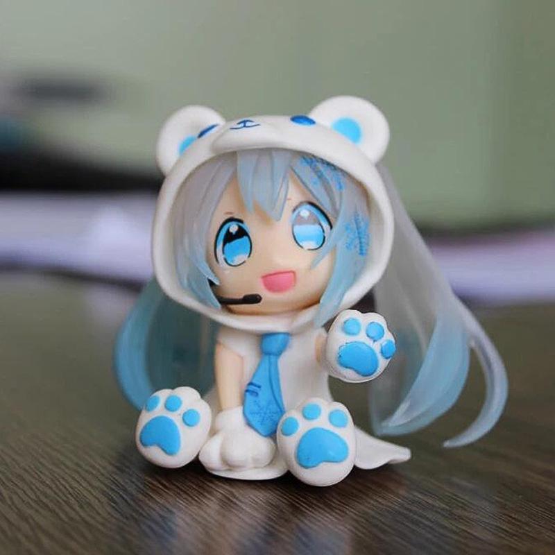 Mô hình nhân vật ca sĩ ảo Hatsune Miku 2d dễ thương