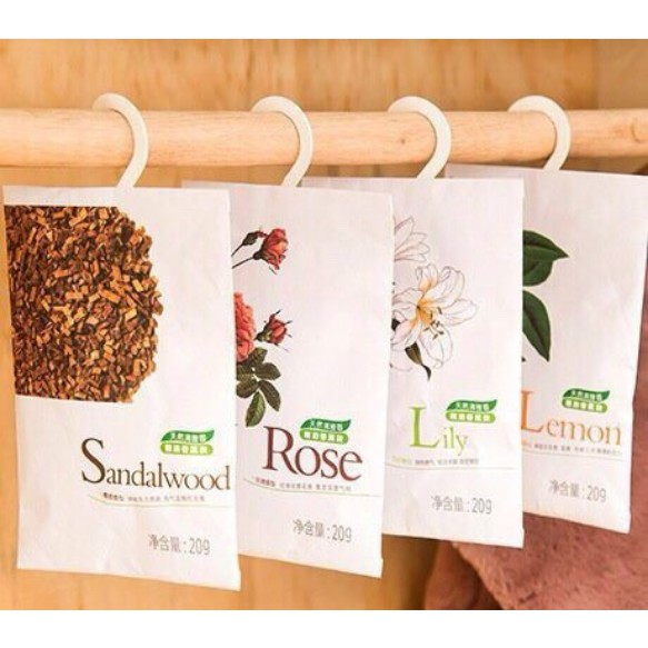 combo 3 gói thơm thảo dược để trong tủ quần áo