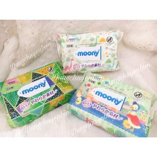 Combo 3 gói khăn ướt Moony nội địa Nhật 240 tờ thumbnail