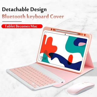 "Case For Huawei MatePad 10.4 Wireless Bluetooth Keyboard BAH3-W09/W59/AL00 10.4""Tablet Magnetic Stand Cover Funda"