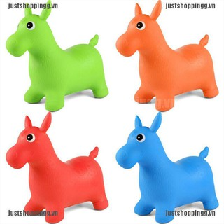 {shopping} Creative Baby Christmas Gift Inflatable Toys Jumping Horses Kids Sports Toys{JUST}