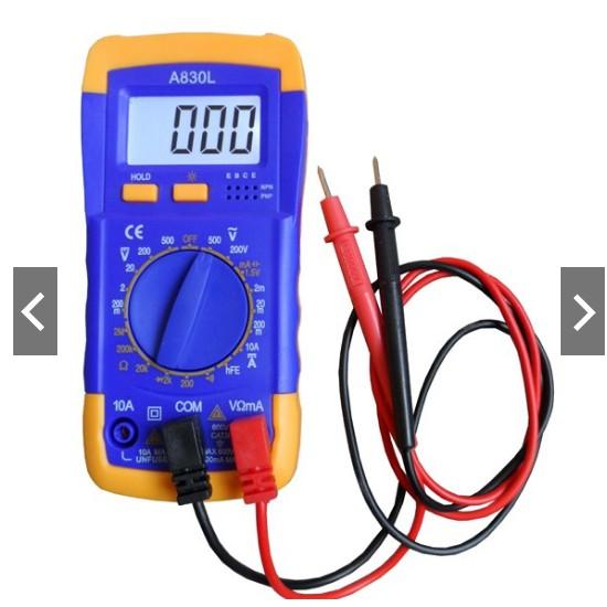 Đồng hồ đo vạn năng Digital Multimeter A830L - 3133952 , 1140071578 , 322_1140071578 , 130000 , Dong-ho-do-van-nang-Digital-Multimeter-A830L-322_1140071578 , shopee.vn , Đồng hồ đo vạn năng Digital Multimeter A830L