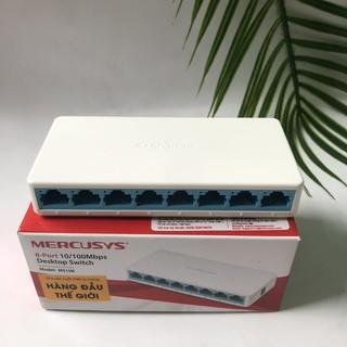 Bộ chia mạng Switch MERCURY, S108C 100MP, 8 cổng, Hành Đảm bảo chất lượng, Bảo hành 2 năm thumbnail