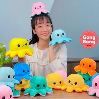 [Size 20cm] Bạch Tuột Cảm Xúc Reversible Octopus Bạch Tuộc Cảm Xúc 2 Mặt sociu cute Cao Cấp Gong Bong store thumbnail