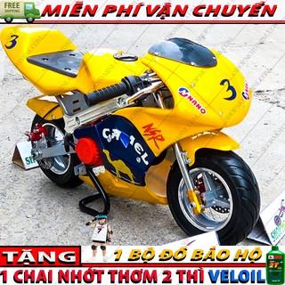 Moto ruồi 50cc | Xe moto mini 49cc trẻ em | xe mô tô cào cào gắn máy cắt cỏ 2 thì