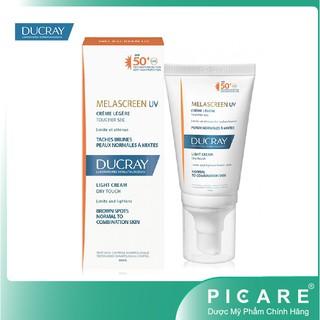 Ducray Kem Chống Nắng Giảm Đốm Nâu Melascreen UV Light Cream SPF50+ 40ml