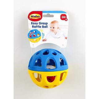 Đồ chơi Bóng lục lạc bằng nhựa Winfun 0779 – Kích thích trẻ vận động vui chơi
