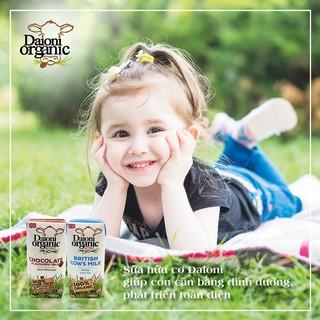(34k/Hộp Khi Mua 1thùng) Sữa tươi Daioni hữu cơ nguyên kem/ tách béo/ vị dâu/ chuối/ socola 200ml