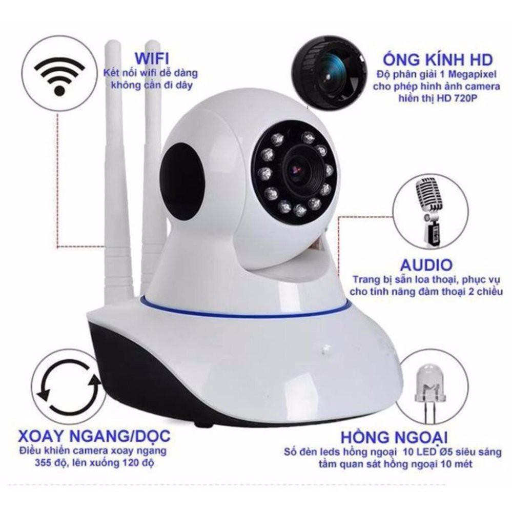 Camera IP Yoosee 2.0 Mpx chuẩn Full HD1080p - Đảm bảo đúng cấu hình