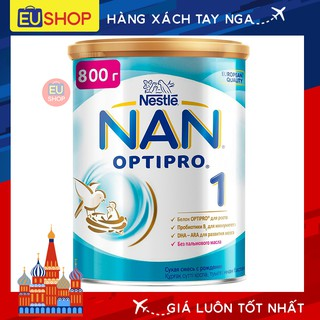 DATE 2022 Sữa bột NAN OPTIPRO Nga - Hộp 800g - số 01 thumbnail