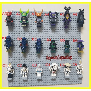 Xác Minifigure nhân vật Lego Ninjago Ninja Người rắn xương quỷ oni các Season E