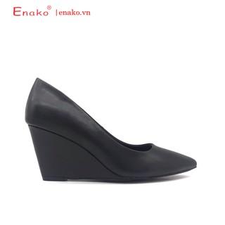 Giày Đế Xuồng Đẹp Mũi Nhọn 7cm Enako TP13264 thumbnail